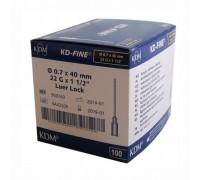 Игла инъекционная 22G (0,7 х 40 мм) KDM