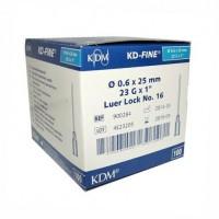 Игла инъекционная 23G (0,6 х 25 мм) KDM