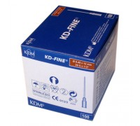 Игла инъекционная 26G (0,45 х 12 мм) KDM