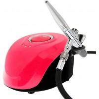 Аэрограф компрессорный для росписи ногтей Mini Air Compressor BT-19 Series