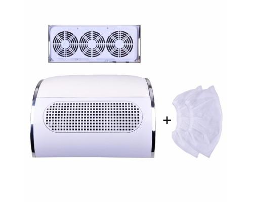 Вытяжка пылесос для маникюра на 3 вентилятора