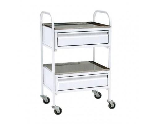 Стол-тележка манипуляционный с двумя ящиками