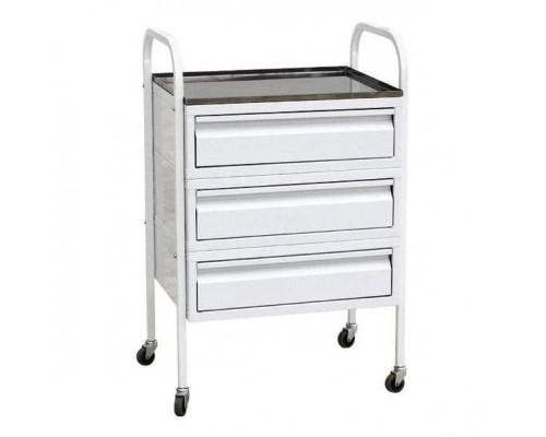 Стол-тележка манипуляционный с тремя ящиками
