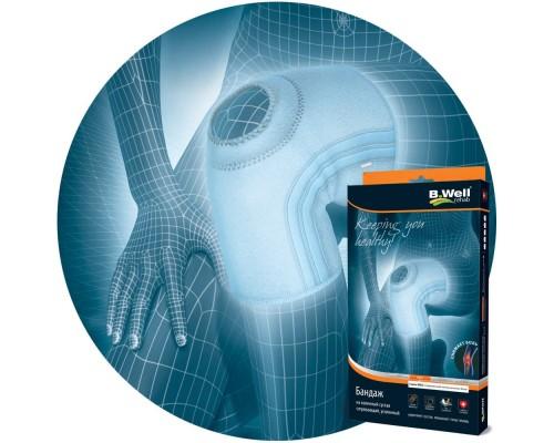 Согревающий бандаж на коленный сустав, усиленный B.Well rehab W-339