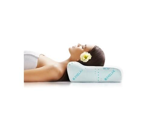 Ортопедическая подушка под голову 33х50х10 см Optima П02