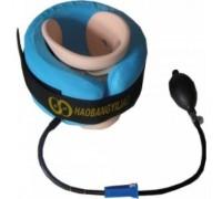 Воротник надувной лечебный для шеи с фиксатором (№1)