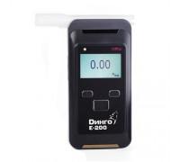 Алкотестер Динго E-200 без принтера с блютуз
