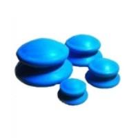 Банки резиновые для вакуумного массажа (4 шт)