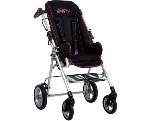 Коляска складная SWIFTY для детей с ДЦП, шир.сидения 34 см