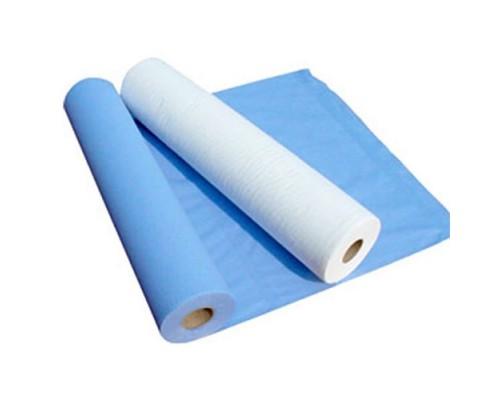 Простыня нестерильная 80х140 плотность 20 (голубая)