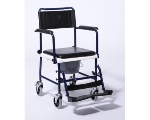 Кресло-каталка с санитарным оснащением 139B