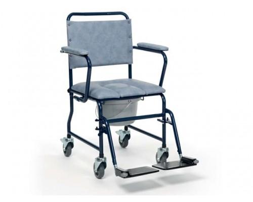 Кресло-каталка с санитарным оснащением 9139