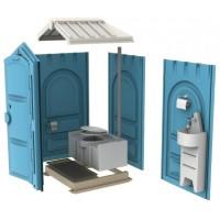Мобильная туалетная кабина EcoGR Люкс