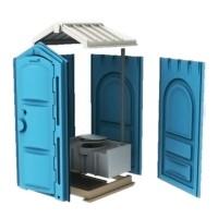 Мобильная туалетная кабина EcoGR Стандарт