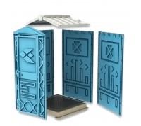 Мобильная туалетная кабина EcoGR Универсал Ecostyle