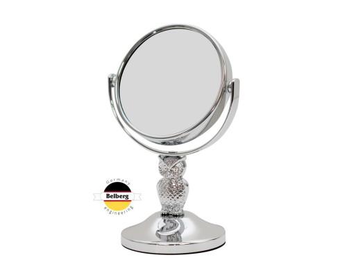 Зеркало косметологическое 5х Belberg BZ-11 Сова