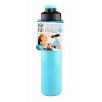 """Бутылка для воды и других напитков """"HEALTH and FITNESS"""" со шнурком, 500 ml. straight, в ассортименте"""