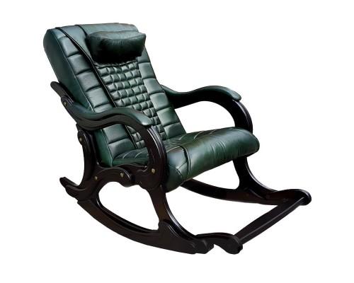 Кресло-качалка массажное EGO WAVE EG-2001 Малахит в комплектации ELITE